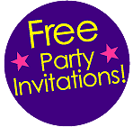 Mr Windbags Free Party Invitations